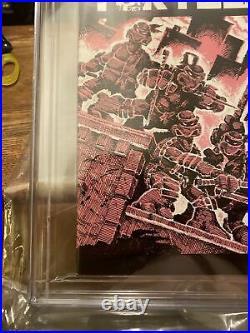 Teenage Mutant Ninja Turtles #1 CGC 9.2 3rd Print Mirage 1984