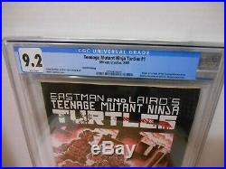 Teenage Mutant Ninja Turtles #1 CGC 9.2 Third Printing Mirage Studios1985