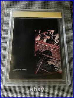 Teenage Mutant Ninja Turtles #1 CGC 9.4 Mirage 1984 2nd Print! Signed! M6 371 cm