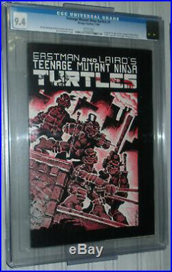 Teenage Mutant Ninja Turtles #1 CGC 9.4 NM 1984 WHITE 1st Printing