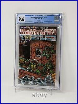 Teenage Mutant Ninja Turtles 1 CGC 9.6 4th printing