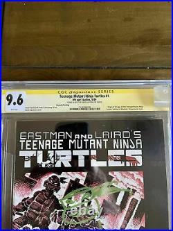 Teenage Mutant Ninja Turtles #1 CGC 9.6 Mirage 1984 2nd Print! Signed! M6 256 cm