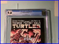 Teenage Mutant Ninja Turtles #1 CGC 9.8 1985 3rd Print 1st Shredder & TMNT