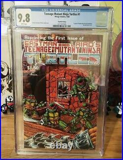 Teenage Mutant Ninja Turtles #1 CGC 9.8 1985 4th printing