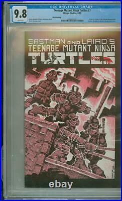Teenage Mutant Ninja Turtles #1 CGC 9.8 3rd Print Origin & 1st App TMNT 1985