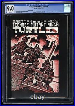 Teenage Mutant Ninja Turtles #1 CGC VF/NM 9.0 White Pages 2nd Print