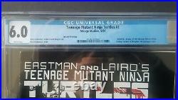 Teenage Mutant Ninja Turtles #1 Cgc 6.0 White 2nd Print Needs Press