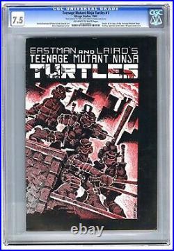 Teenage Mutant Ninja Turtles #1 Cgc 7.5 1st Print