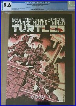 Teenage Mutant Ninja Turtles 1 Cgc 9.6 3rd Print Mirage 1985 1st Turtles Tmnt