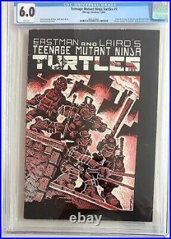 Teenage Mutant Ninja Turtles #1 Mirage 1984 1st Print 1st Appearances CGC 6.0