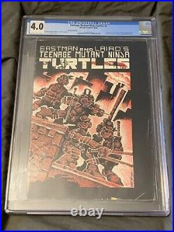 Teenage Mutant Ninja Turtles #1 Mirage 1984 CGC 4.0 2nd Print! Cream-off Wht