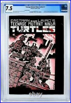 Teenage Mutant Ninja Turtles #1 -Mirage 1984- CGC 7.5 2nd Print