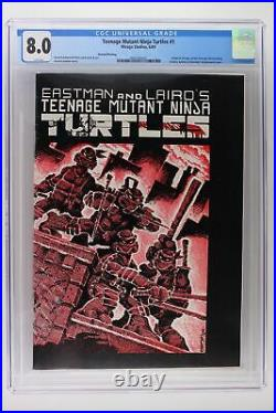 Teenage Mutant Ninja Turtles #1 Mirage 1984 CGC 8.0 2nd Print