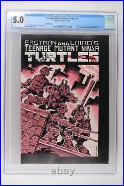 Teenage Mutant Ninja Turtles #1 Mirage 1985 CGC 5.0 1st TMNT 3rd Print
