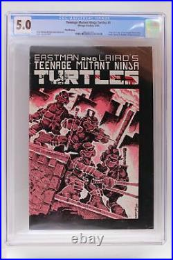 Teenage Mutant Ninja Turtles #1 Mirage 1985 CGC 5.0 3rd Print