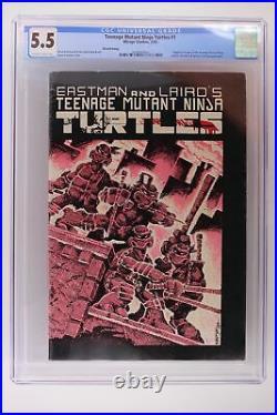 Teenage Mutant Ninja Turtles #1 Mirage 1985 CGC 5.5 3rd Print 1st TMNT