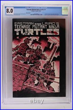 Teenage Mutant Ninja Turtles #1 -Mirage 1985- CGC 8.0 1st App TMNT 3rd Print