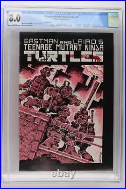 Teenage Mutant Ninja Turtles #1 Mirage 1985 CGC 8.0 3rd Print