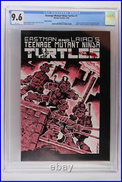 Teenage Mutant Ninja Turtles #1 Mirage 1985 CGC 9.6 1st App TMNT 3rd Print