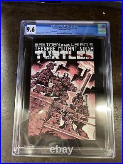 Teenage Mutant Ninja Turtles #1 Mirage 1985 CGC 9.6 1st Turtles 3rd Print