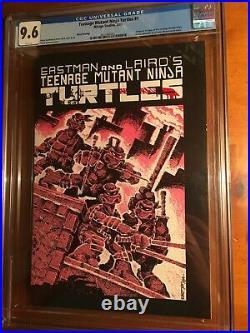 Teenage Mutant Ninja Turtles #1 Mirage 1985 CGC 9.6 -3rd Print- 1st Turtles
