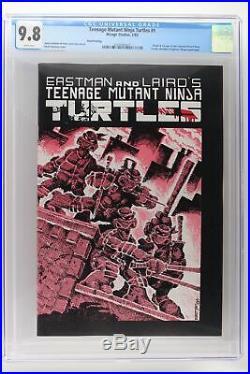 Teenage Mutant Ninja Turtles #1 Mirage 1985 CGC 9.8 -3rd Print- 1st Ap Turtles