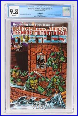 Teenage Mutant Ninja Turtles #1 Mirage 1985 CGC 9.8 4th Print