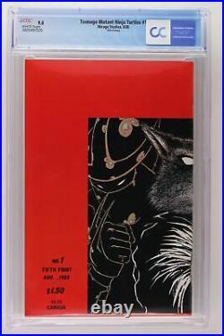 Teenage Mutant Ninja Turtles #1 Mirage 1988 CGC 9.0 5th Print