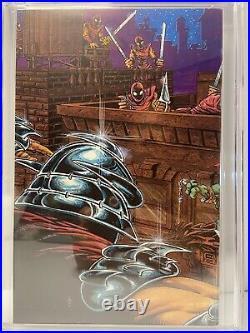 Teenage Mutant Ninja Turtles #1 Mirage Comics 1985 CGC 9.2 4th Print White Pages