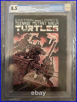Teenage Mutant Ninja Turtles #1 Second Print CGC 8.5 Mirage 1984 TMNT 1