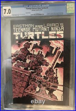 Teenage Mutant Ninja Turtles #1 Third Print (1984, Mirage)