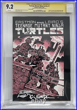 Teenage Mutant Ninja Turtles #1 Third Print CGC SS 9.2