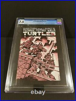 Teenage Mutant Ninja Turtles # 1, Third Printing, CGC 7.5! (Mirage 1985)