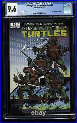 Teenage Mutant Ninja Turtles (2011) #51 CGC NM+ 9.6 1st Print 1st Jennika