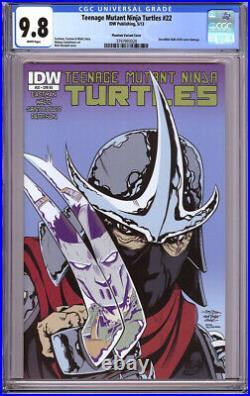 Teenage Mutant Ninja Turtles #22 Cgc 9.8 Variant Hulk #340 Homage Idw Tmnt 2013
