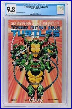 Teenage Mutant Ninja Turtles #24 Mirage 1989 CGC 9.8 HIGHEST GRADE