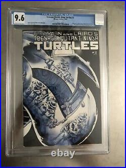 Teenage Mutant Ninja Turtles #2 1984 First Printing! CGC 9.6 Mirage Studios