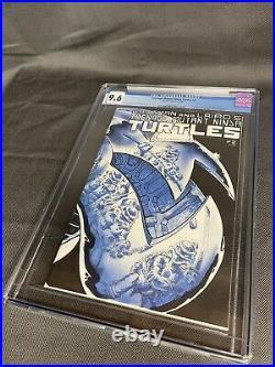 Teenage Mutant Ninja Turtles #2 1984 Mirage CGC 9.6 White Pages 1st April ONeal