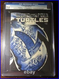 Teenage Mutant Ninja Turtles #2 (1985) 1st April O'Neil 2nd Print CGC 9.6