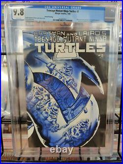 Teenage Mutant Ninja Turtles #2 (1985) Cgc Grade 9.8 Second Printing
