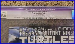 Teenage Mutant Ninja Turtles #2 1st Print CGC 9.6