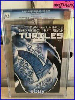 Teenage Mutant Ninja Turtles 2 1st printing CGC 9.6 1st April O'Neil & Mousers