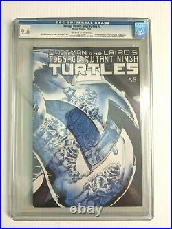 Teenage Mutant Ninja Turtles #2 1st printing CGC 9.6 NM+ WP 1985 Mirage Studios