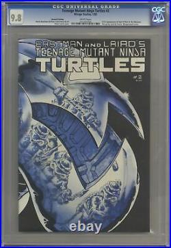 Teenage Mutant Ninja Turtles 2-2ND CGC 9.8 1985 0315207006