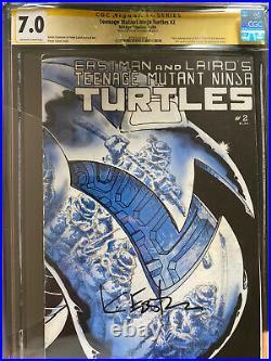 Teenage Mutant Ninja Turtles #2, #3, #4 1st Print, CGC Signed