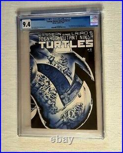Teenage Mutant Ninja Turtles #2 CGC 9.4 First Printing Mirage Studios 1984