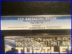 Teenage Mutant Ninja Turtles #2 CGC 9.6 1st Print 1st Mousers, April ONeil