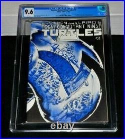 Teenage Mutant Ninja Turtles 2 CGC 9.6 White Pages 1984 Mirage 1st Print