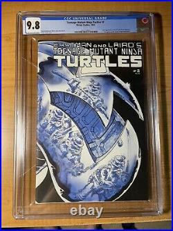 Teenage Mutant Ninja Turtles #2 CGC 9.8 First Print Off-White to White Pages