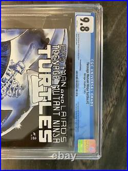 Teenage Mutant Ninja Turtles 2 / CGC 9.8 / White Pages / Priced Under Market Val